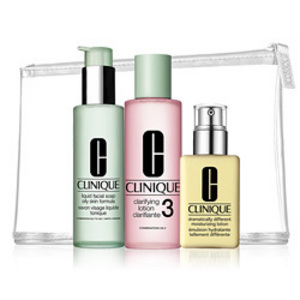 Clinique 3-Step Kit -Combination Oily/Oily Skin Types