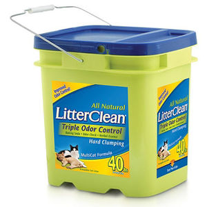 Litter Clean Triple Odor Control Litter