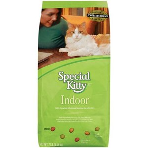 Special Kitty Indoor Formula Dry Cat Food