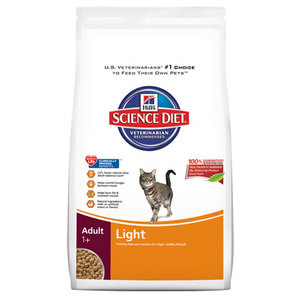 Hill's Science Diet Adult Light Formula Dry Cat Food