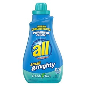 All Small & Mighty Liquid Laundry Detergent Fresh Rain