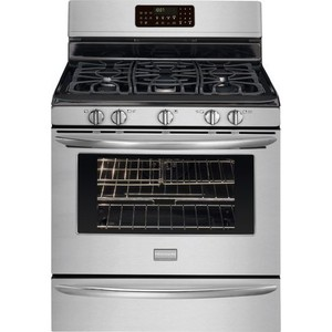 "Frigidaire FGGF3054MW Gallery 30"" White Gas Sealed Burner Range - Convection"