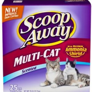 Scoop Away Multi-Cat Clumping Cat Litter