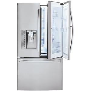 lg 30 cu ft super capacity french door refrigerator w. Black Bedroom Furniture Sets. Home Design Ideas