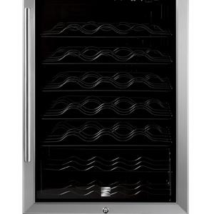 Kenmore 45-Bottle Wine Chiller - Stainless Steel
