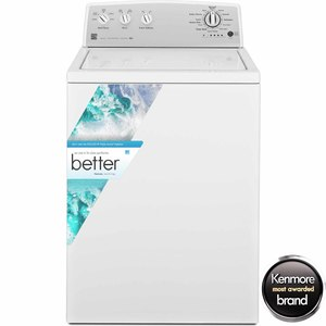 Kenmore 3.6 cu. ft. Top-Load Washer w/ Deep Wash Cycle - White
