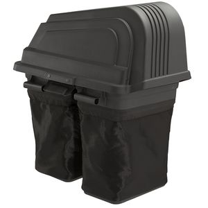 "Craftsman 6 bushel 2 - bin Soft Bagger for 46"" Deck Lawn Tractors"