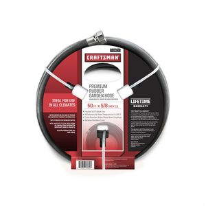Craftsman All Rubber Garden Hose 5/8 In. x 50 Ft.