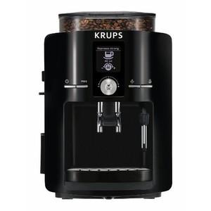 KRUPS EA825 Espresseria Fully Automatic Espresso Machine with Built-in Conical Burr Grinder, Black