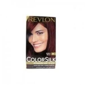 Colorsilk By Revlon, Ammonia-Free Permanent, Haircolor- Auburn Brown 49 - 1 Ea