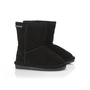 Bearpaw Toddler Girl's Emma Suede Fashion Boot - Black