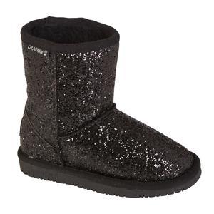 Bearpaw Girl's Cheri Black/Glitter Mid-Calf Fashion Boot
