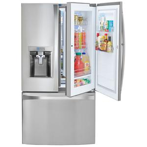 Kenmore Elite 30 cu.ft. French Door Bottom-Freezer Refrigerator w/Grab-N-Go™ Door