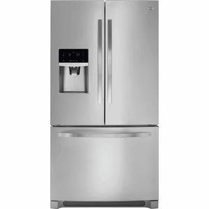 Kenmore 22 cu. ft. Counter Depth French Door Refrigerator - Stainless Steel
