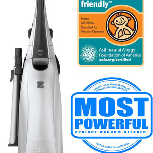 Kenmore Elite Bagged Upright Vacuum Cleaner - Silver