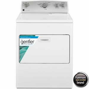 Kenmore 7.0 cu. ft. Top-Load Gas Dryer w/ SmartDry Plus Technology - White