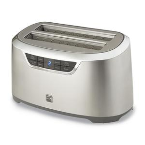 Kenmore Elite 4-Slice Auto-Lift Long Slot Toaster Stainless Steel