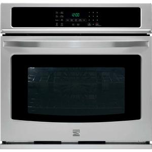 "Kenmore 27"" Electric Self-Clean Single Wall Oven /w Convection - Stainless Steel"