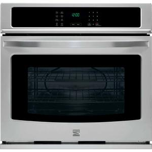 "Kenmore 30"" Electric Self-Clean Single Wall Oven - Stainless Steel"