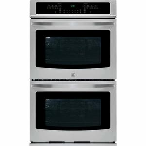 "Kenmore 27"" Self-Clean Double Electric Wall Oven w/Convection - Stainless Steel"