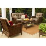 Ty Pennington Style Mayfield 4 Pc. Deep Seating Set
