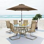 Garden Oasis Long Beach 7pc Patio Dining Set