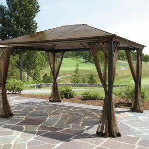 Grand Resort 10X12 Hardtop Gazebo  Limited AvailabilityGrand Resort 10X12 Hardtop Gazebo  Limited Availability LGFP0977  . Grand Resort Outdoor Furniture Reviews. Home Design Ideas