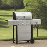 Kenmore 4 Burner Gas Grill With Stainless Steel Lid