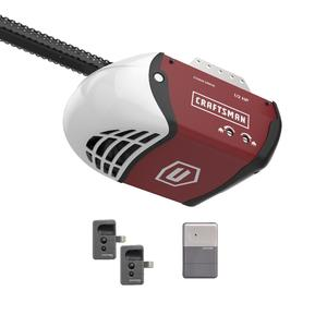 Craftsman 1/2 HP Chain Drive Garage Door Opener with 2 Remotes