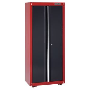 "Craftsman 32"" Wide Floor Cabinet - Red/Black"