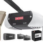 Craftsman AssureLink™ Internet 3/4 HP DC Belt Drive Garage Door Opener DieHard® Battery Backup, No Annual Fees