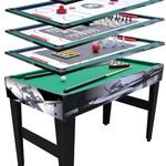 "MD Sports 48"" 12 in 1 Multi Game Table"
