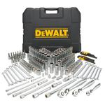 DeWalt 204 Piece Mechanics Tool Set; 1/4, 3/8, & 1/2-inch Drive