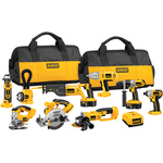 DeWalt 18 V XRP™ Cordless 9-Tool Combo Kit with Impact Driver