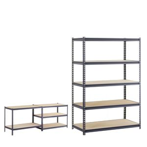 "Edsal 48"" Heavy-Duty Steel Shelving"