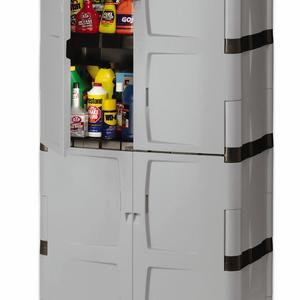 Rubbermaid FG708300MICHR Full Double Door Cabinet