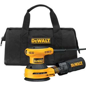 DeWalt 5 In. Random Orbit Sander Kit with Dust Bag & Vacuum Adapter