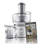 Breville BJE200XL Bundle 700-Watt Compact Juice Fountain with DVD