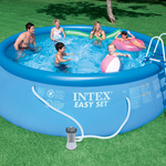 Intex 15 ft. x 48 in. Easy Set® Pool Package