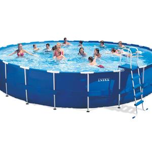 Intex 24-Foot Easy Set Up Metal Frame Pool