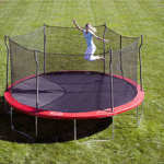 Propel Trampolines 15' Enclosed Trampoline with Anchor Kit