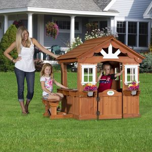Backyard Discovery Scenic Playhouse - Free Delivery!