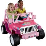 Power Wheels Barbie™ Jammin' Jeep® Wrangler