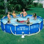 Intex 12ft X 30in Round Frame Pool Package