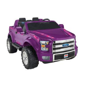 Power Wheels Ford F-150 Purple Camo