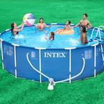 Intex 15ft x42in Metal Frame Pool Package