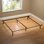 Sleep Revolution Traditional Queen Size Steel Bed Frame