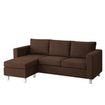 Dorel Home Furnishings Small Spaces Sectional Sofa, Multiple Colors