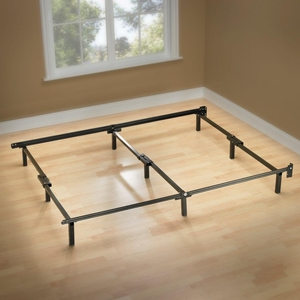 Sleep Revolution Compack 9 Leg Full Metal Bed Frame