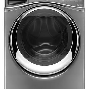 Whirlpool 4.5 cu. ft. Duet® Front-Load Washer w/ Wash and Dry Cycle - Chrome Shadow